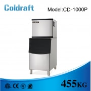 Máy làm đá viên Coldraft  CD-1000P sản lượng 455Kg/24h