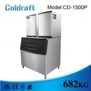 Máy làm đá viên Coldraft  CD-1500P sản lượng 682Kg/24h