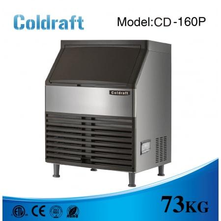 Máy làm đá viên Coldraft  CD-160P sản lượng 73Kg/24h