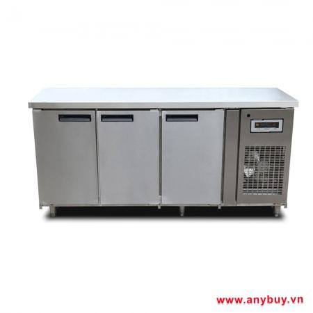 Tủ bàn mát cánh inox BM180x76-3I-T
