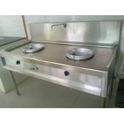 Bếp Á 2 họng gas đẹp AN-BA2