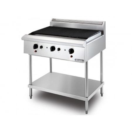 Bếp nướng than nhân tạo 3 họng gas Berjaya CB3BFS-17