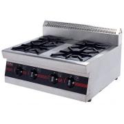 Bếp âu 4 họng gas WPS-4 (không có đánh lửa)