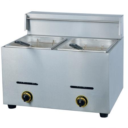 Bếp chiên nhúng gas đôi YF-72