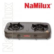 Bếp gas dương Namilux NA-590FM bếp đôi mặt men