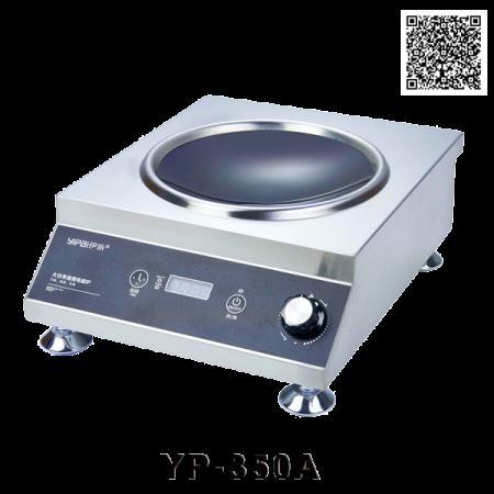 Bếp điện từ công nghiệp 3,5KW mặt lõm YP-350A
