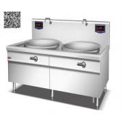 Bếp từ công nghiệp YS-100DC-2 công suất 30KWx2