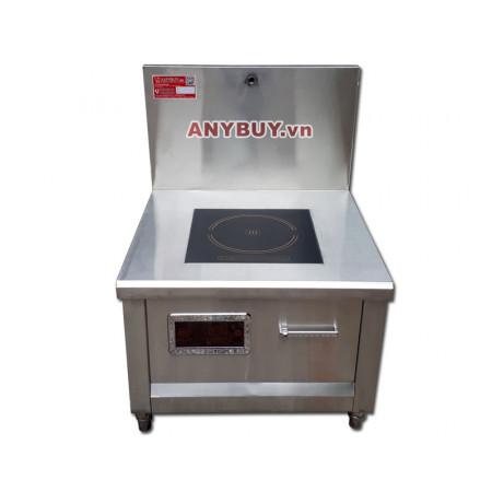 Bếp từ công nghiệp mặt phẳng công suất 8KW