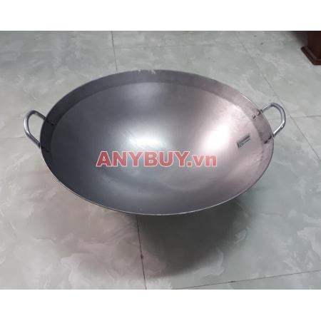 Chảo bếp từ công nghiệp mặt lõm Ø50cm