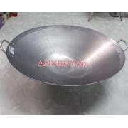 Chảo bếp từ công nghiệp mặt lõm Ø55cm