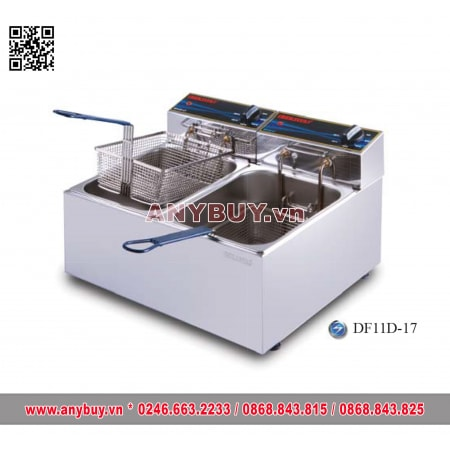 Bếp chiên nhúng đôi dùng điện Berjaya  DF11D-17