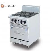 Bếp âu 4 họng gas có lò nướng  DRO4L