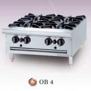 Bếp âu Berjaya 4 họng dùng gas