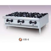 Bếp âu Berjaya 6 họng dùng gas OB-6