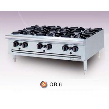 Bếp âu Berjaya 6 họng dùng gas
