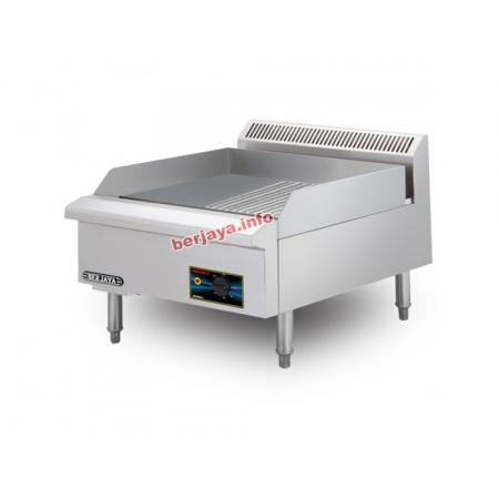 Bếp chiên rán phẳng nửa vân dùng điện EG3500HR-17