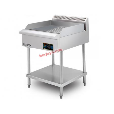 Bếp chiên rán phẳng nửa vân dùng điện EG3500HRFS-17