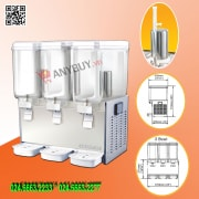Máy giữ lạnh nước trái cây 3 bình Berjaya JD-318-JET-25