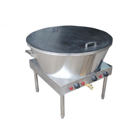 Bếp chiên điện chảo rán điện 70cm