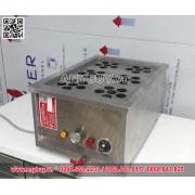 Bếp hấp Dimsum 6 xửng hấp và cấp nước tự động công suất 4Kw
