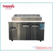 Tủ Bàn Mát Salad Topping Happys HWA-1200TP dài 1200mm
