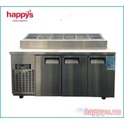 Bàn Mát Salad Topping Happys HWA-1800TP dài 1800mm