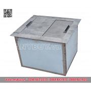 Thùng đựng đá inox giữ nhiệt âm bàn (kích thước theo yêu cầu)