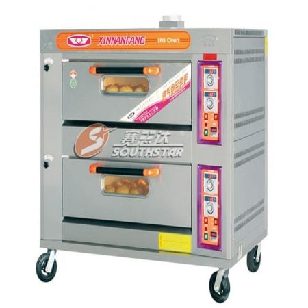 Lò nướng bánh 2 tầng 4 khay Southstar YXY-40A dùng gas