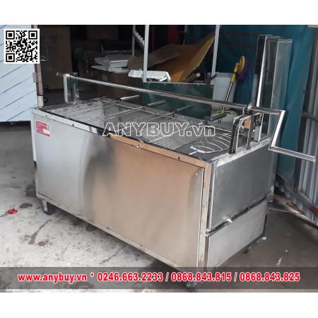 Lò quay vịt nướng inox kết hợp quay lợn và các món nướng