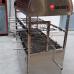 Lò quay vịt nướng than hoa 2 tầng 10 xiên LV-10N1Mv3