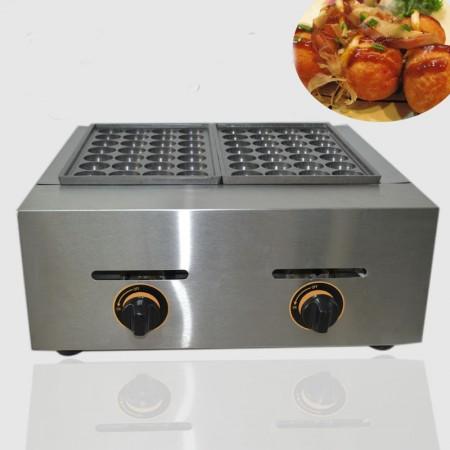 Máy làm bánh nhân bạch tuộc takoyaki gas đôi YE-56.R