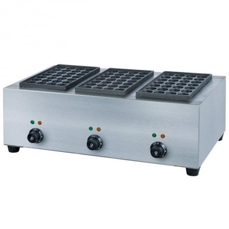 Máy làm bánh nhân bạch tuộc dùng điện 3 bếp 6kW Takoyaki YE-65