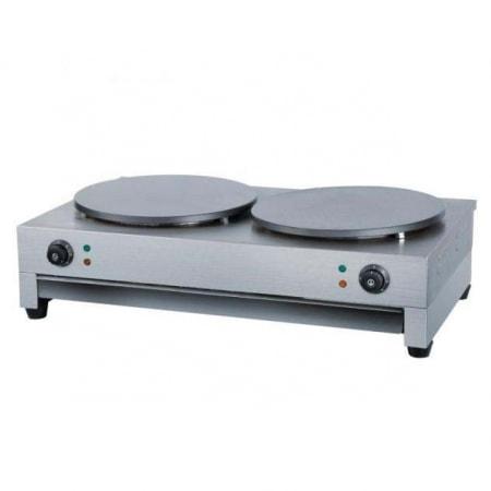 Máy làm bánh Crepe điện đôi YD-2 (3+3kW)