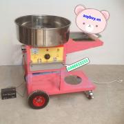 Máy làm kẹo bông di động (ắc quy + gas)