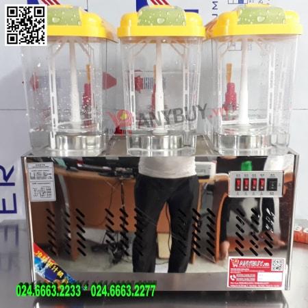 Máy làm nóng lạnh nước trái cây 3 bình 18L-3
