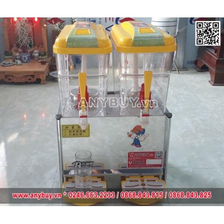 Máy làm lạnh nước trái cây 2 ngăn Model 18L-2