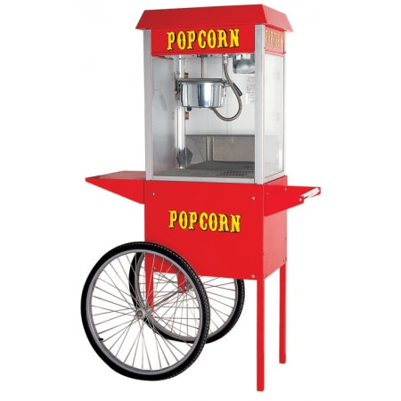 Máy làm bỏng ngô có xe đẩy