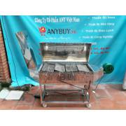 Máy nướng chả 15 xiên chất liệu inox có vỉ kẹp chả