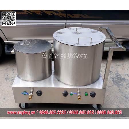 Bộ nồi điện nấu phở liền bàn dung tích 20-60 lít