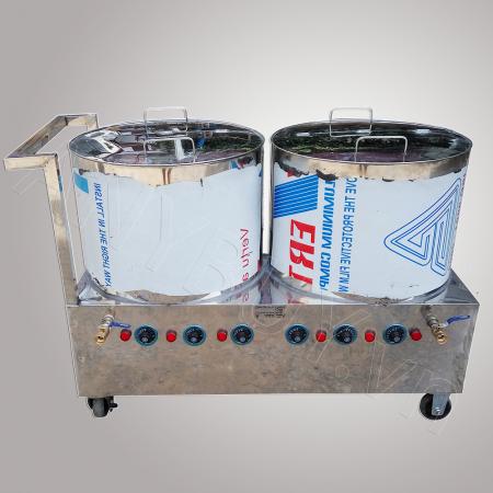 Bộ nồi phở inox dùng điện 80-80 lít NP-2N8080L