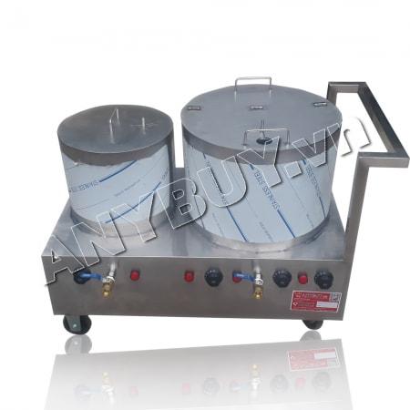 Bộ nồi nấu phở inox 304 dung tích 20-50 lít NP-2N2050L