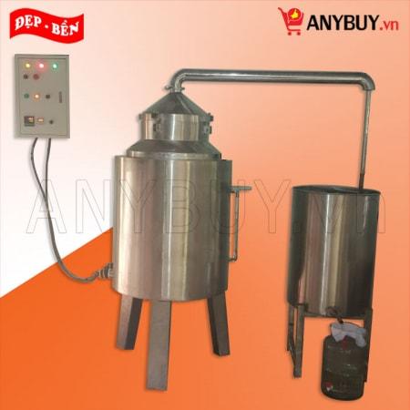 Nồi nấu rượu dùng điện 40kg/mẻ