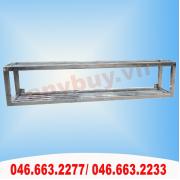 Giá inox treo tường 2 tầng dài 1,65m