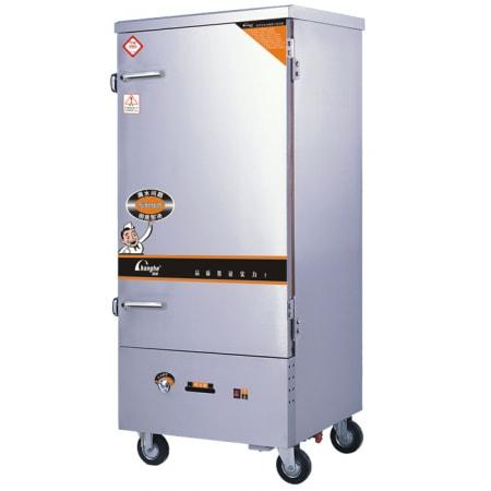 Tủ nấu cơm công nghiệp CH-F-300 gas 12 khay