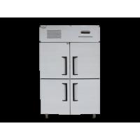 Tủ đông 4 cánh inox công nghiệp dung tích 1020L, model 1.0LG làm lạnh quạt gió