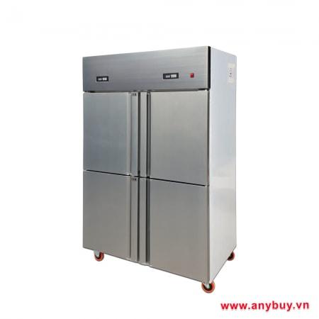 Tủ đông công nghiệp 4 cánh 1 ngăn đông và 1 ngăn mát SLLDZ4-900