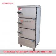 Tủ hấp hải sản công nghiệp 3 tầng dùng điện YW-FT-D3