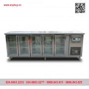 Tủ bàn mát cánh kính quạt gió BM223x60-4K