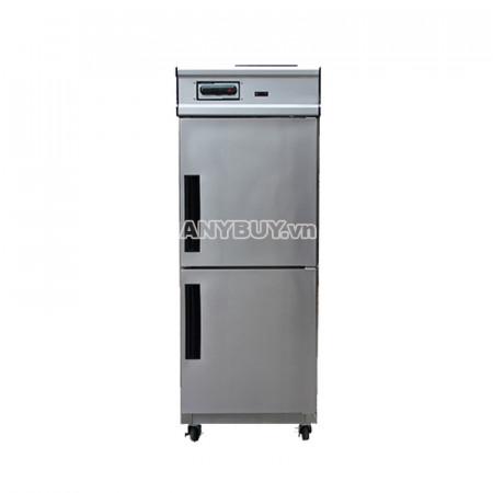 Tủ đông mát inox 2 cánh DM600-2I