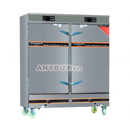 Tủ nấu cơm điện tử 24 khay kết hợp gas